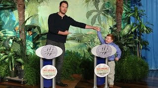 Ellen Replays the Chris Pratt & Noah Ritter Face-Off