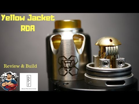 video Bruce Pro Innovations Yellow Jacket 24mm Bf Rda