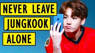 When you leave Jungkook alone