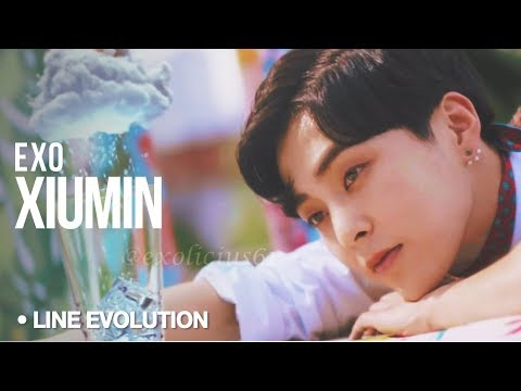 XIUMIN (EXO) - Line Evolution (2012 - 2017)