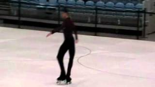 triple axel jump on roller skates by Dario Betti 2010