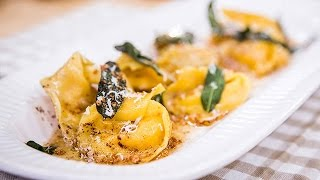 Home & Family - Butternut Squash Ravioli with Brown Butter Sage Sauce Recipe