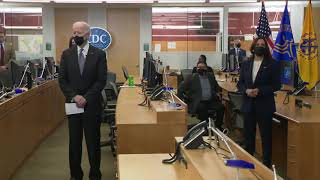 President Biden and Vice President Harris Visit the Centers for Disease Control and Prevention
