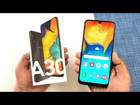 video Samsung Galaxy A30