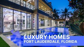 Fort Lauderdale Florida Luxury Homes Open House - Step Inside!!