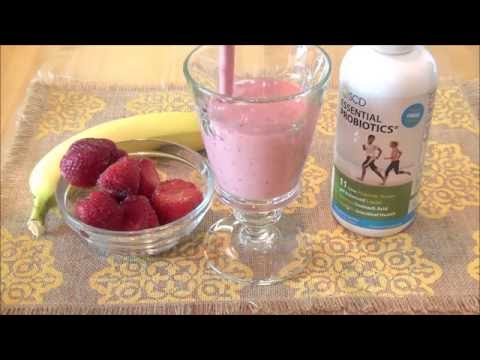Fiber-Packed Smoothie: a Probiotic Recipe