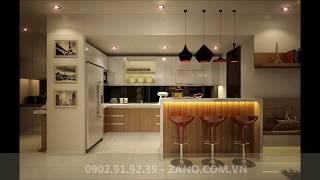 Mẫu thiết kế phòng ăn, phòng bếp đẹp - Nội thất Z.A.N.O