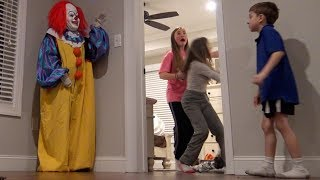 Clown Running Around With Behind The Scenes and Bean Boozled!