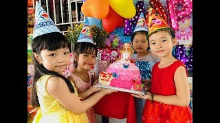 Sinh Nhật Dâu (^_^) Stin Dâu Happy BirthDay (^_^) Chiếc Bánh Kem Hình Công Chúa Búp Bê