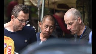 Meet the British 'A-team' divers at the center of Thailand cave rescue