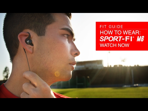 Guide: How to Wear the MEE audio M6 Memory Wire In-Ear Sports Headphones