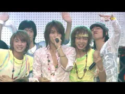 DBSK - HiYaYa + The Way U Are (MBC Korea Music Youth Festival) LIVE