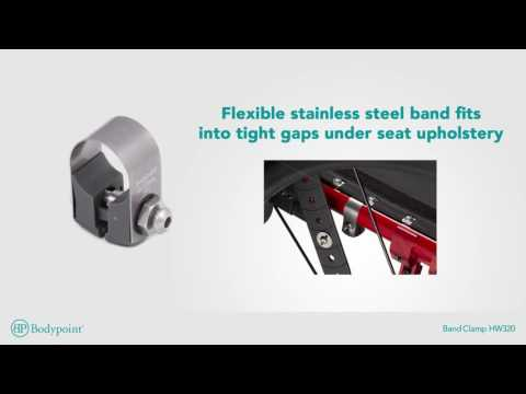 Bodypoint | Band Clamp | Wheelchair Hardware - Spanish