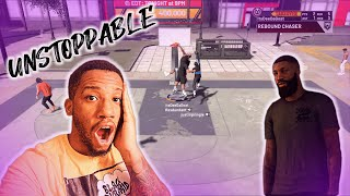 CHANGED MY FINISHING BADGES AROUND ON MY 6'8 PAINT BEAST AND THIS WHAT HAPPENED!! NBA 2K20 GAMEPLAY!
