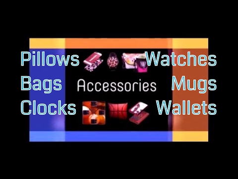 Fashion Accessories: Bags, Pillows, Wallets and more!