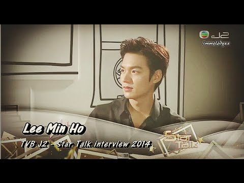 Lee Min Ho - His interview 2014 via TVB J2 @Startalk (Edited)