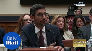 'iPhone is made by a different company' Google CEO says to Rep. King