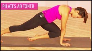 Pilates Ab Toner Workout: 15 Mins- Gabrielle