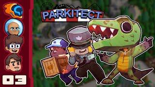 Feral Jonus Fatson's Revenge - Let's Play Parkitect [Multiplayer] - Part 3