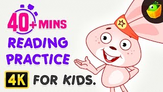 Reading Practice For Kids | 40 Mins Compilation | Rebus Stories | Lily's Easy to Read