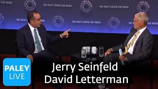 Jerry Seinfeld and David Letterman (Full Program)