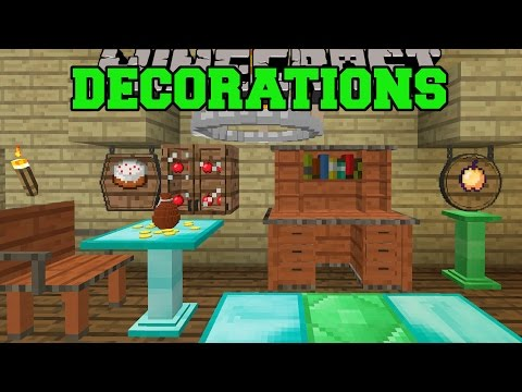 Minecraft Decorations Overload Cabinets Chandeliers