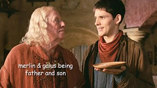 merlin and gaius being father and son