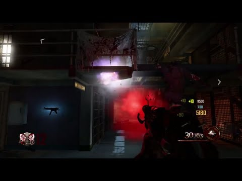 Black Ops 2 Zombies Porter's Ray Gun Mark 2 - BO2 Upgraded Ray Gun Mark 2 Gameplay - Buried DLC - MW3Stream  - wn7t2OkiiGw -
