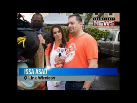 Issa Asad helps the community in South Florida