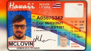 Using McLovin ID at Liquor Stores (IT WORKED!!)