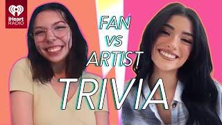 Dixie D'Amelio Goes Head to Head With Her Biggest Fan! | Fan Vs Artist Trivia