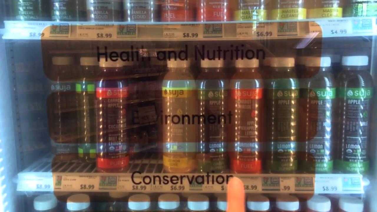 Le frigo interactif qui vous aide à choisir votre boisson