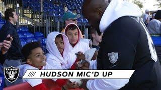 Rodney Hudson Mic'd Up at 2020 Pro Bowl | Las Vegas Raiders