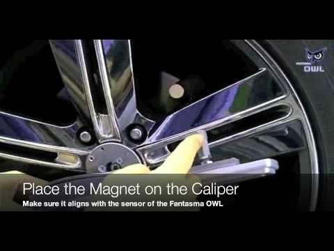 Светлечка анимација на тркалата од вашиот автомобил