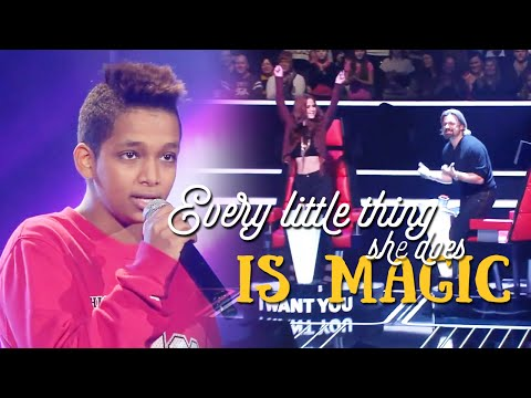 Every Little Thing She Does Is Magic - Danyiom [Vietsub + Lyrics] (Blind Auditions)