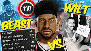 Can A 110 Overall Player BEAT Wilt Chamberlains Scoring Records?? - NBA 2K17 CHALLENGE (MyLeague)