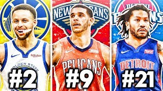 RANKING THE BEST POINT GUARD FROM EACH NBA TEAM IN 2019