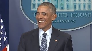 Obama First Press Conference Since Trump Election | Full Presser