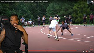 TRASH TALKER RIPPED TJASS! Doesn't Give A F*** About The Cameras! 5v5 Basketball In Charlotte!