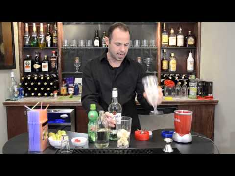 Frozen Banana Daiquiri Recipe Tutorial | Party Bullet