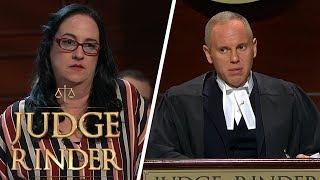 Judge Rinder Gives Smug Woman a Warning | Judge Rinder