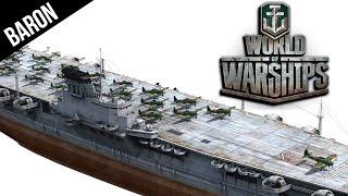 World Of Warships Tier 10 Japanese Carrier Montana And Yamato Killer Hakuryu Aircraft