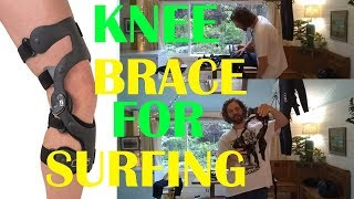The best knee brace for surfing and other extreme sports