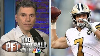 Florio: New Orleans Saints have best QB situation in NFL | Pro Football Talk | NBC Sports