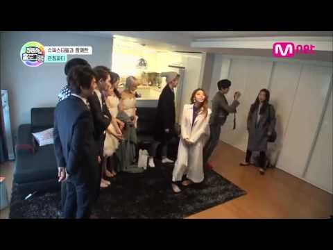 Park Shin Hye visits Jung Yong Hwa on