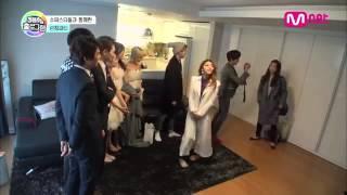 """Park Shin Hye visits Jung Yong Hwa on """"Hologram"""""""