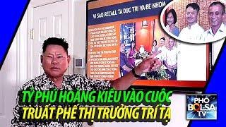 Tỷ phú gốc Việt Hoàng Kiều vào cuộc truất phế thị trưởng gốc Việt Trí Tạ
