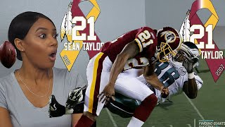 New NFL Sports Fan Reacts to Sean Taylor Football Highlights