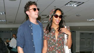 'Spider-Man' Star Laura Harrier Arrives In L.A. With BF Amid News She's Joined 'Fahrenheit 451'