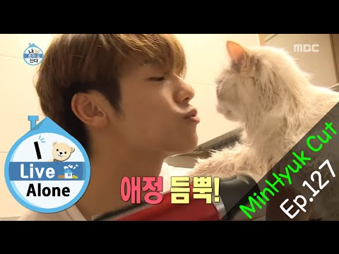 [I Live Alone] 나 혼자 산다 - Kang Min Hyuk go to Cat bath 20151016
